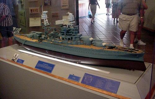 Models at the USS Arizona Memorial